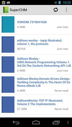 Download Superchm, powerfull Chm Reader Apk For Android 1