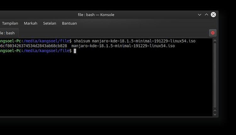 Pengertian checksum, Kegunaan checksum dan 2 Cara Menggunakan Cheksum di Linux 2