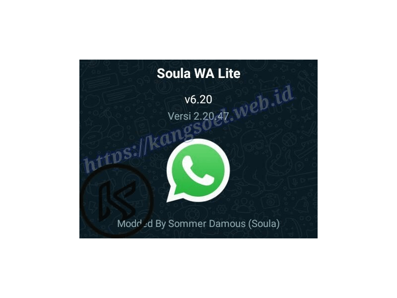 Whatsapp lite terbaru april 2020 v.6.20 com.soula2